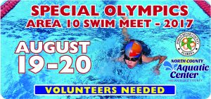 NCAC closed for the Special Olympics Area 6 swim meet @ North County Aquatic Center | Sebastian | Florida | United States