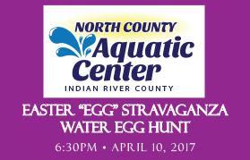 "Water Egg Hunt - Easter ""Egg"" Stravaganza @ North County Aquatic Center | Sebastian | Florida | United States"