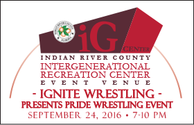 Ignite Wrestling Presents PRIDE Wrestling Event @ iG Center | Vero Beach | Florida | United States