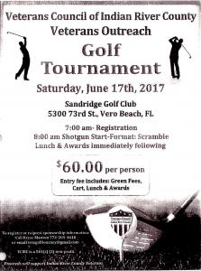 3rd Annual Veterans Outreach Golf Tournament @ Sandridge Golf Club | Vero Beach | Florida | United States