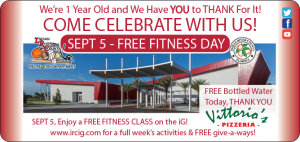 iG Anniversary - FREE Fitness Day! @ iG Center | Vero Beach | Florida | United States