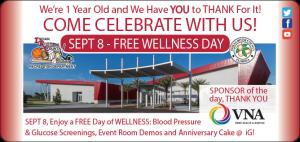 iG Anniversary - FREE Wellness Day! @ iG Center | Vero Beach | Florida | United States