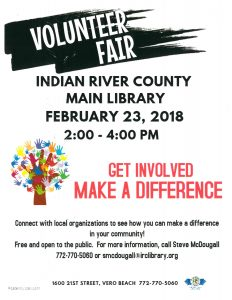 Volunteer Fair @ IRC Main Library | Vero Beach | Florida | United States