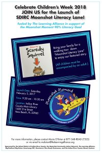 Take Your Child to the Library Day with Moonshot Literacy Lane @ IRC Main Library | Vero Beach | Florida | United States