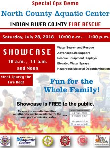 IRC Fire Rescue Special Ops Demo @ North County Aquatic Center | Sebastian | Florida | United States
