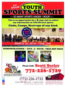 2nd Annual Youth Sports Summit @ iG Center | Vero Beach | Florida | United States