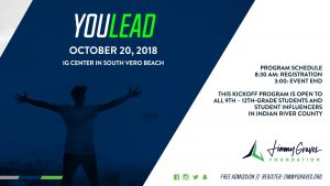 Jimmy Graves Foundation  (JGF) Leadership Ed. & Dev. (LEAD) FAU Training: Student Leader Challenge @ iG Center | Vero Beach | Florida | United States