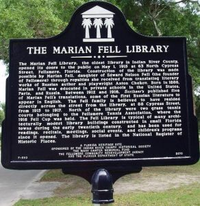 The Marian Fell Library Grand Opening @ Marion Fell Library | Fellsmere | Florida | United States