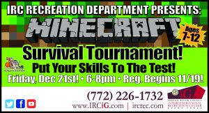 Minecraft Gaming Tournament @ iG Center | Vero Beach | Florida | United States
