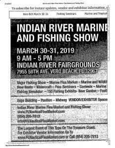Indian River Flea Market & Fishing Show