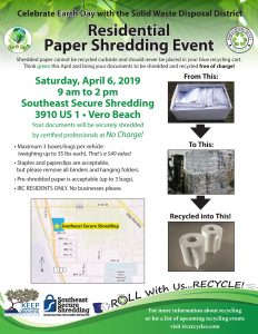Residential Paper Shred Event @ Southeast Secure Shredding | Vero Beach | Florida | United States