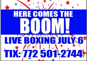 Here Comes The BOOM! Boxing Event by Classy Chris Gray @ iG Center | Vero Beach | Florida | United States