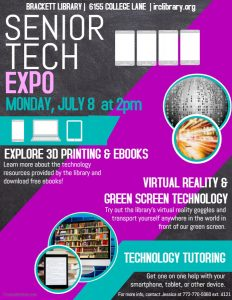 Senior Tech Expo @ Brackett Library | Vero Beach | Florida | United States