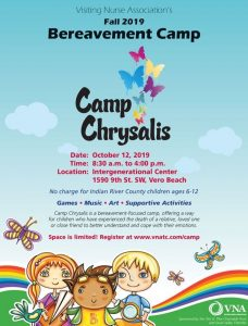 VNA (Visiting Nurses Assoc.) Camp Chrysalis @ iG Center