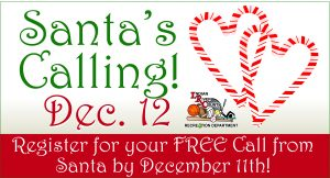 """Santa Calling"" - FREE Phone Call from Santa! @ iG Center"