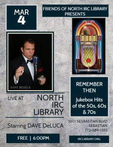 LIVE MUSIC: Remember Then @ North County Library