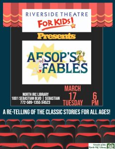 LIVE PERFORMANCE: Aesop's Fables @ North County Library