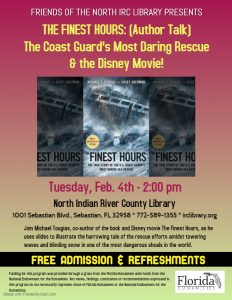 AUTHOR TALK: The Finest Hours @ North County Library