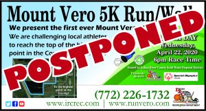 POSTPONED - Mount Vero 5K @ Indian River County Landfill
