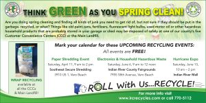 Fall Recycling Event at the Hurricane Expo - Indian River Mall @ Indian River Mall