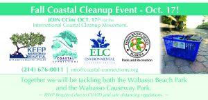Coastal Cleanup Event! @ Wabasso Beach Park & Wabasso Causeway Park
