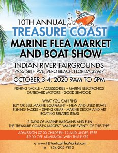 Treasure Coast Marine Flea Market and Boat Show @ IRC Fairgrounds