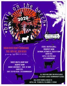 Indian River Youth Livestock Association - Prospect Show! - Battle on the Beach @ IRC Fairgrounds Ag Pavilion