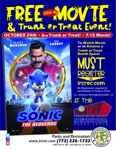 FREE Movie and Trunk er Treat Event! @ iG Center