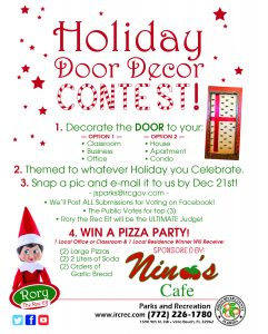 Holiday Door Decor Contest! @ Indian River County Parks & Recreation