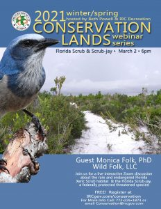 Conservation Webinar Series – Scrub Habitat & the Florida Scrub-jay