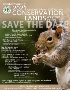 Conservation Webinar Series - #2 Intro to Birding! Bright Eyed & Bushy Tailed