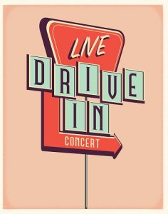 Drive-In Concert with Dave DeLuca @ Brackett Library