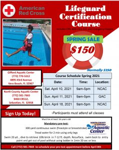 Lifeguard Certification Class @ North County Aquatic Center