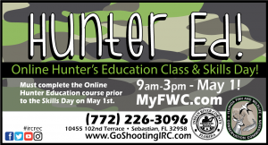Hunter's Ed. Class! by FWC & @ IRC Shooting Range
