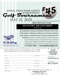 Annual Indian River County & Municipality Golf Tournament @ Sandridge Golf Club