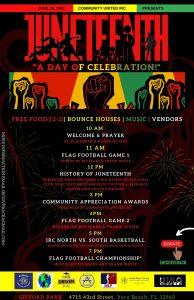 Juneteenth! A Day of Celebration! @ Victor Hart Sr. Community Enhancement Complex