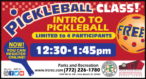 FREE Intro to Pickleball Class! @ iG Center