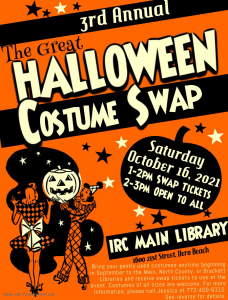 The Great Halloween Costume Swap! @ Main Library