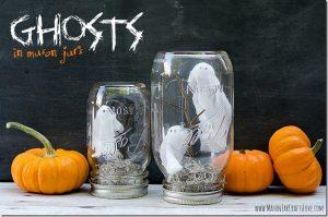 Ghost in a Jar! (Children's Craft Workshop) @ Brackett Library