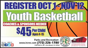 Youth Basketball Registration for Winter 2022 BEGINS @ iG Center